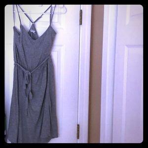 Old Navy Gray Dress Medium